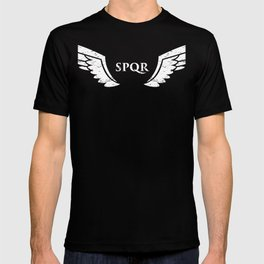 Roman Empire SPQR Eagle Wings T-shirt