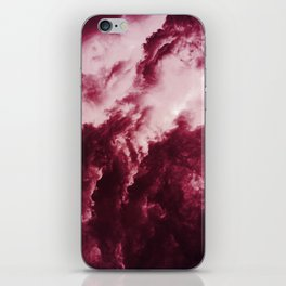 Red Thunder iPhone Skin