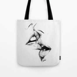 Universe kiss. Tote Bag
