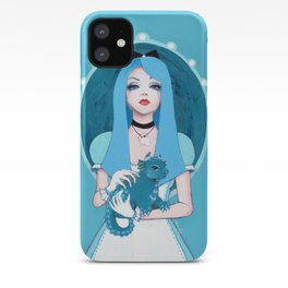 Alice Wore Blue iPhone Case