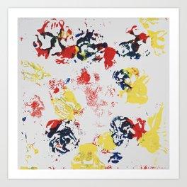 Blotches Art Print