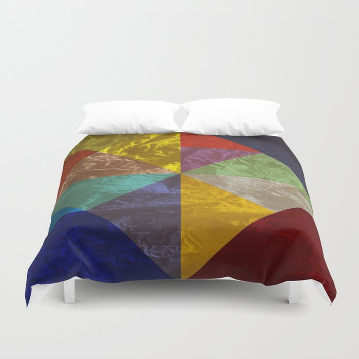 Abstract #237 Duvet Cover