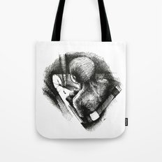 God Always Look At You From Top! Tote Bag