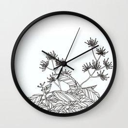 BW Garden Wall Clock