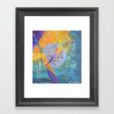 Kozmoz nu Framed Art Print