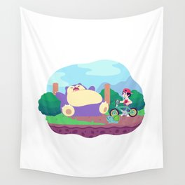Teeny Tiny Worlds - Route 12 Wall Tapestry