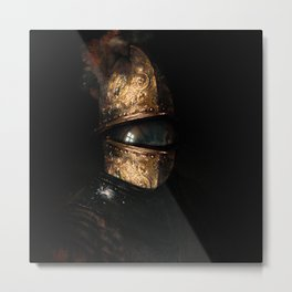 Shredder Metal Print