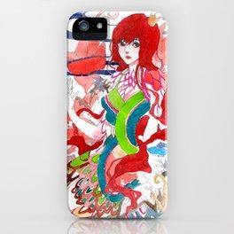 Raxiele iPhone Case