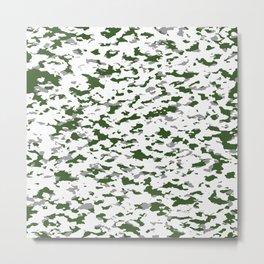 Camouflage: Alpine I Metal Print