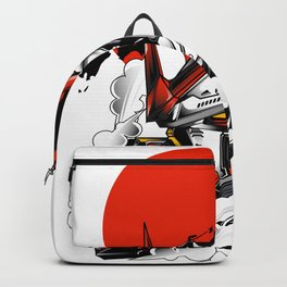 ASTRAY RED FRAME BUST F-12 Backpack