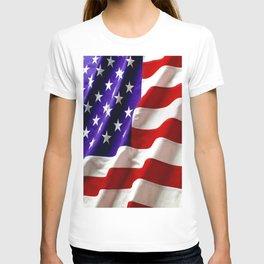 American Flag Pillow T-shirt