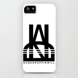 NameDroppinWill iPhone Case