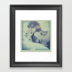 fringes Framed Art Print