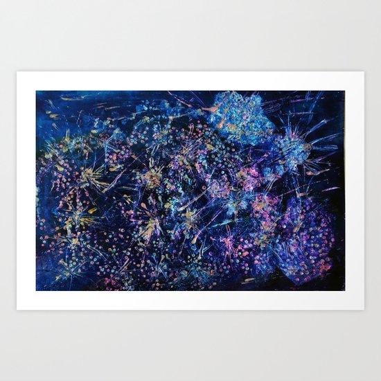 Sector Blue 2435 Art Print