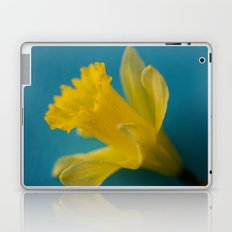 Yellow and Blue Laptop & iPad Skin