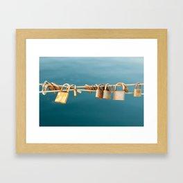Key To The Coast Framed Art Print