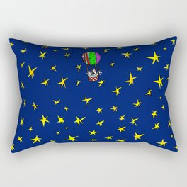 Stars Traveling Rectangular Pillow