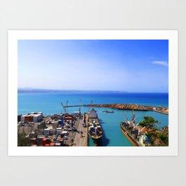 Mini Port Art Print