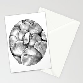 asc 658 - Les pêches de l'empereur (More juicy fruits) Stationery Cards