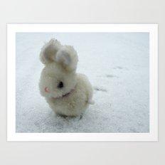 Bob (the bunny) Art Print