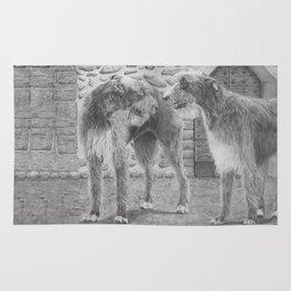 Irish wolfhounds - Gentle giants Rug