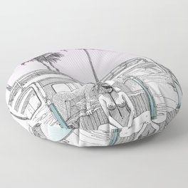 asc 691 -  Book cover for La Musardine Floor Pillow