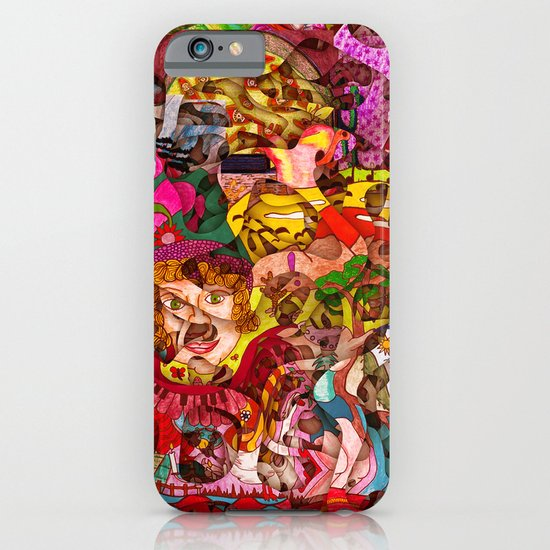 Mini slices brought together push away the stormy weather iPhone & iPod Case