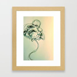 and who are you Framed Art Print
