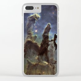 Pillars of Creation (Eagle Nebula) Clear iPhone Case