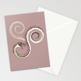 Mauve Serpent Stationery Cards