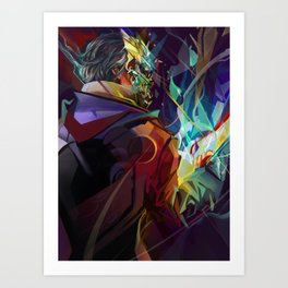 He who had the Favor Art Print