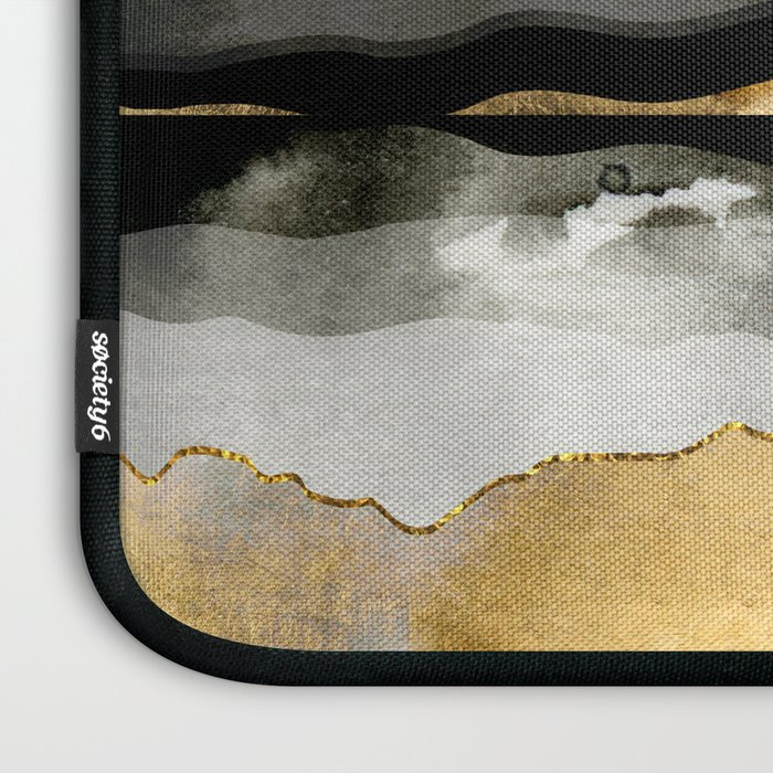Golden Spring Moon Laptop Sleeve