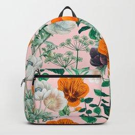 Wildflowers #pattern #illustration Backpack