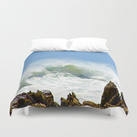 Christmas Wave Duvet Cover