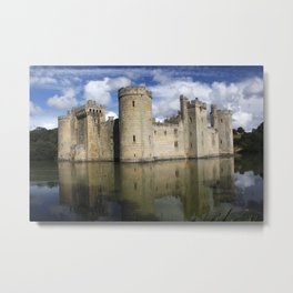 Bodiam Castle Metal Print