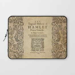 Shakespeare, Hamlet 1603 Laptop Sleeve