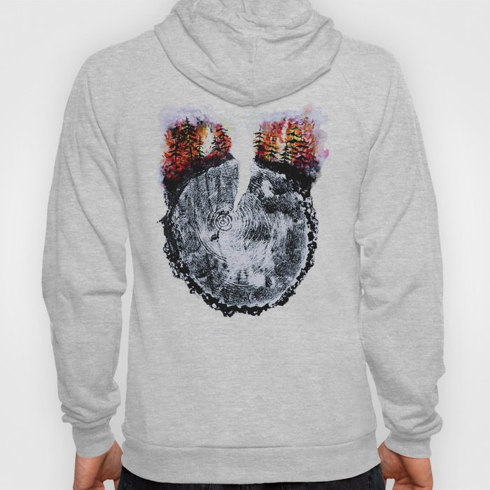 Burning Forest Hoody