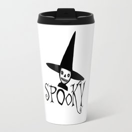 Spooky Witch Girl, Halloween Design Travel Mug