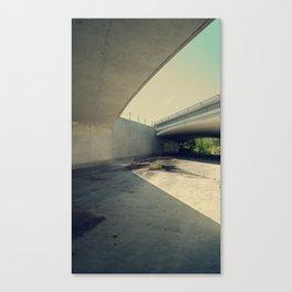 Blue Bridge Canvas Print