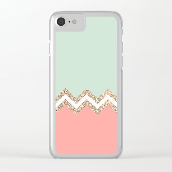 AVALON CORAL Clear iPhone Case