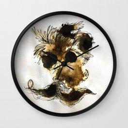 Espresso Nietzsche Wall Clock