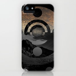 Somewhere not here IV iPhone Case