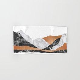 Marble Landscape I, Minimal Art Hand & Bath Towel