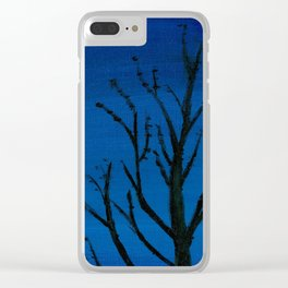 Caught Dreaming Clear iPhone Case