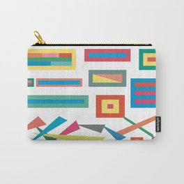 Falling Triangles Carry-All Pouch