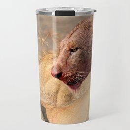 Beast Lioness Travel Mug
