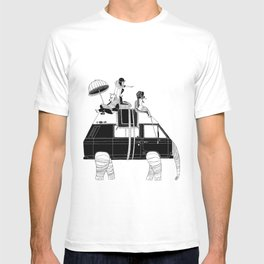 Elephant Camper Van T-shirt