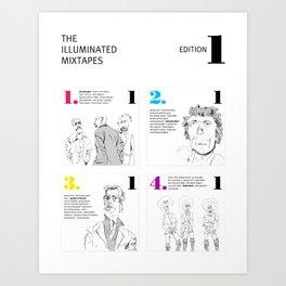 The Illuminated Mixtapes, Edition 1 Art Print