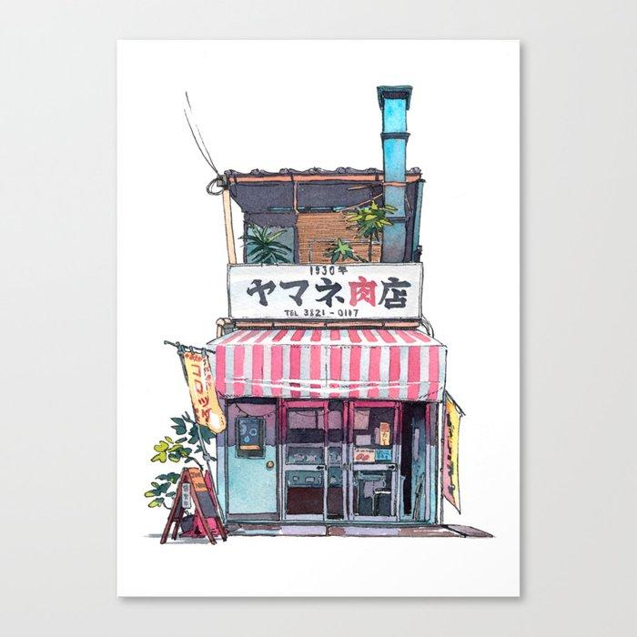 Tokyo storefront #01 Leinwanddruck