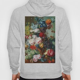 Fruits and Flowers Vintage Painting Hoody
